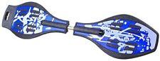 Waveboard Wave Board Skateboard blau 360° LED Wheels + gratis Tragetasche NEU