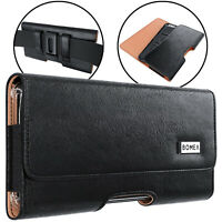 Belt Holster w/ Clip PU Leather Phone Pouch Carrying Case For iPhone X/XS/11 Pro