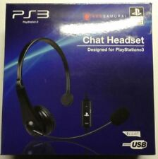 PlayStation 3 Ps3 Chat Headset Official Product Certified USB Onn