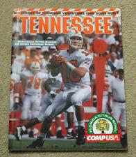 1995-96 Tennessee Volunteers Bowl Guide Peyton Manning