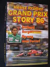 Peters' Book Grand Prix Story 86 Gerhard Berger: op weg naar Ferrari Prüller