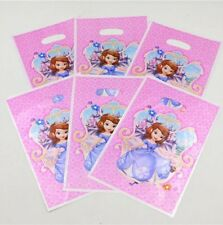 20 Pcs Set, Sofia the first Candy plastic bags Kids Birthday Party Supply