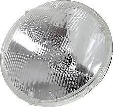 "NOS 5-3/4"" Round 5001 Halogen Hi HIGH Beam Glass Sealed Headlight Headlamp"