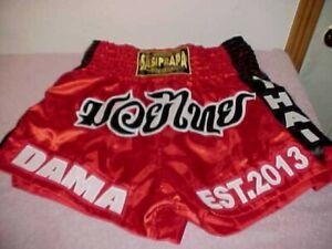 "NEW Muaythai Sasiprapa MUAY THAI MMA / Boxing Shorts Trunks, 28"" Waist(EXPANDS)"