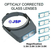 JSP®  BINOCULAR VISOR with 4 DIFFERENT GLASS LENSES(lo300)