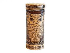 Holz Birkenrinde Brillen Etui Behälter Hülle Futteral Organikprodukt Handmade