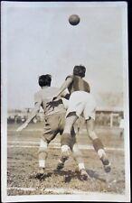 Cartolina Fotografica Calcio Bologna Modena 1931 Eraldo Molzeglio