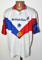 GREAT BRITAIN NATIONAL RUGBY LEAGUE TEAM 1990'S SHIRT JERSEY ASICS SIZE XL ADULT