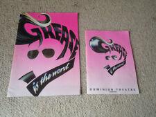 Original 1990s Collectable Theatre Programmes Brochures