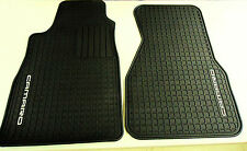 93-02 Camaro Coupe Floor Mats- All Weather- Front Set- Black- GM New # 12495267