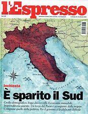 L'Espresso.È sparito il Sud,Gunter Grass,Manlio Cancogni,Emmanuel Macron,ppp