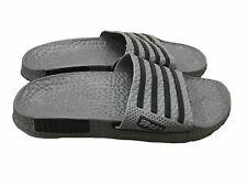 Mens Slip On Sport Sandals Slides Rubber Flip Flops Shower Slippers Gray 8