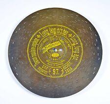 """Lang, è lungo'S HER SYMPHONION Orologio Giocattolo piastra di lamiera D 21 Music Box DISC 8 1/4"""""""