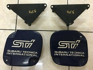Subaru Impreza Sti GC8 GF8 JDM Version 1-4 Foglights Cover With Brackets (Used)