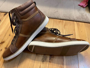 Men's SONOMA Goods for Life Casual Dress Ankle Boots Shoes Cognac Size 10.5 NEW