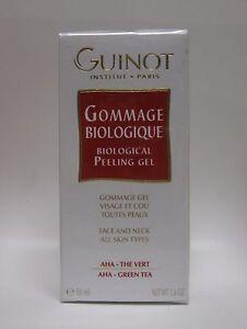 Guinot  Gommage Biologique Biological Peeling Gel  1.6 oz / 50 ml New