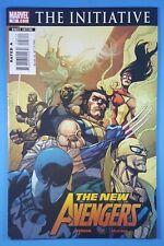 The New Avengers #28 vs Mighty Avengers The Initiative Marvel Comics 2007