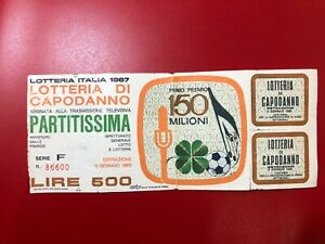 Lottery By Year Italy 1967 Partitissima With Service