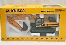JCB JS330L Tracked Excavator Precision Die Cast Model - JOAL - Rare