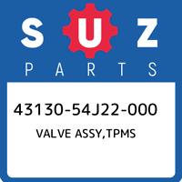 43130-54J22-000 Suzuki Valve assy,tpms 4313054J22000, New Genuine OEM Part
