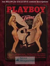 PLAYBOY March 1981 BARNSTABLE TWINS KYMBERLY HERRIN JAMES GARNER LAUREN HUTTON