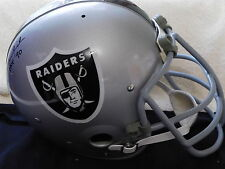 Ted Hendricks signed T B Raiders  F/S Custom helmet, COA, HOF '90
