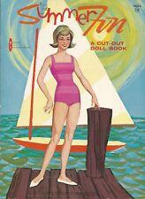 Vintge 1960S Summer Fun Paper Doll Hd Lasr Reproduction~Lo Price No1 Slr Free Sh