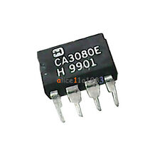 10pcs OP AMP IC HARRIS DIP-8 CA3080E CA3080EZ CA3080 100% Genuine