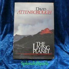 """OUR WORLD...""""The LIVING PLANET"""" BY FAMOUS NATURALIST AUTHOR DAVID ATTENBOROUGH"""