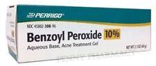 Perrigo Benzoyl Peroxide 10% Acne Gel Aqueous 2.1oz ( 60 gm ) PHARMACY FRESH!