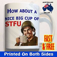 How about a cup of STFU #2 - Coffee Mug Cup Birthday Fathers Day gift