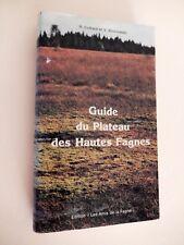 """ARDENNES GUIDE DU PLATEAU DES HAUTES FAGNES Éditions """"Les Amis de la Fagne"""" 1977"""