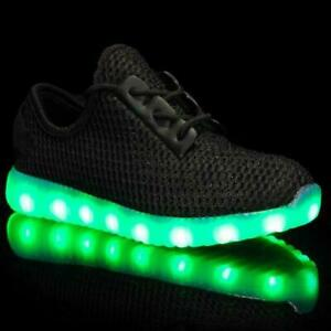 Kids Light up Trainers LED Shoes Boys Girls Infants Flashing Shoes