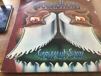 "Groundhogs - Crosscut Saw 12"" LP United Artisrs Records 1976 EX"