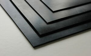 OIL RESISTANT NITRILE RUBBER SHEET (Various sizes & thicknesses)