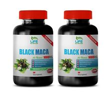 muscle preworkout natural pill BLACK MACA muscle increaser gains booster 2 BOTTL