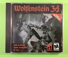 Wolfenstein 3d 2001 Id Software Activision Pc Computer Game Cd-rom - Complete