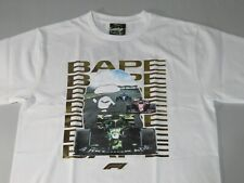22589 F1 bape photo ape head white tee XL