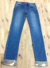 Aqua Girls, Vintage Wash Jeans W/Camo Print Cuffs, Size 10