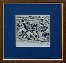 Wandbild  Künstler signiert, Radierung auf Bütten, Moderne Kunst, xx 58-065xxx