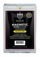 200 Max Pro Ultra One Premium Magnetic UV 100pt Black Label Touch Card Holders