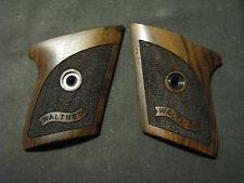 Walther TPH Pistol Grips Fine Stippled Walnut w/Banner Logo Beautiful! NEW GRIP