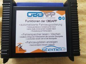 OBDAPP Interface Fehlerspeicher lesen und löschen