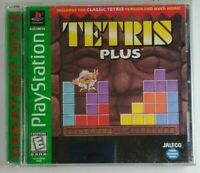 Tetris Plus Greatest Hits Playstation PS1 Video Game Complete
