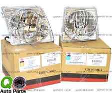 New Pair Set Headlight Headlamp Lens Assembly Ford Explorer Sport & Sport Trac