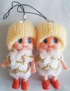 Korea Ddung Doll Cell Phone Backpack Keychain Gift Christmas Decoration Depant 6