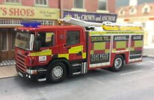 Scania CP28 P280 Angloco Hertfordshire Fire Engine Model 1:76 OO/00 Oxford 1:72