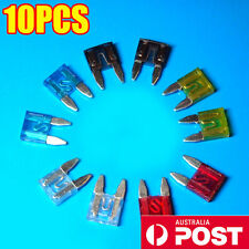 10PCS Micro Standard Mini Blade Spare Fuses for Ford Focus 2004 to 2011 AU STOCK