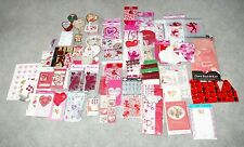 Great Lot New Valentines Day Gift Bags Stickers Cards Decor BIG VARIETY