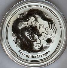 Australia 2 dolares 2012 plata pura 2 onzas matter Asian año del dragon